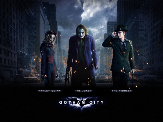 GOTHAM series batman action superhero d-c dc-comics thriller drama comics (16) wallpaper