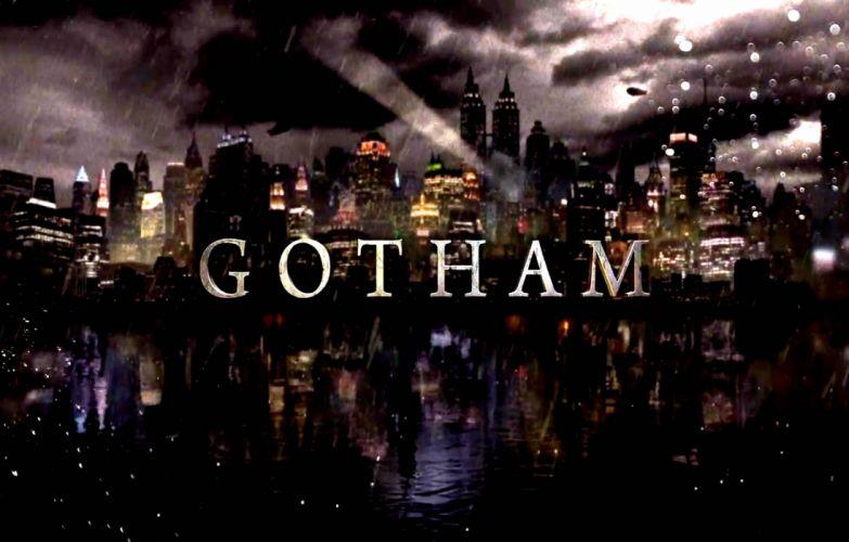 GOTHAM series batman action superhero d-c dc-comics thriller drama comics (11) wallpaper