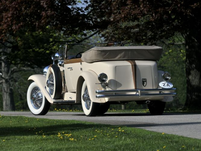 1930 Duesenberg Model-J 391-2315 Convertible Berline LWB Murphy retro luxury g wallpaper