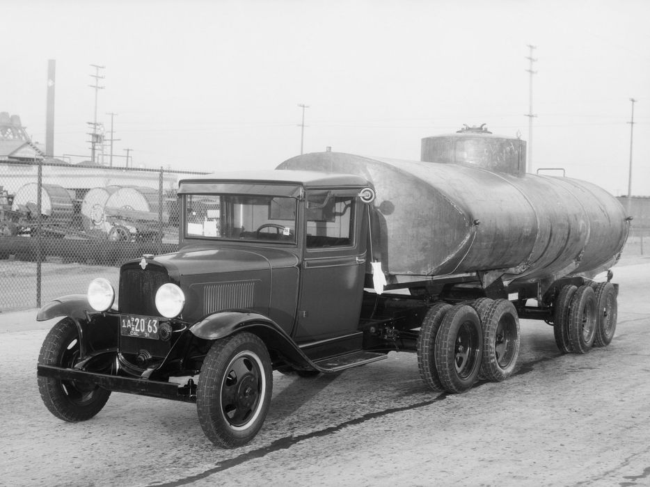 1931 Chevrolet Model-MB Tractor Truck semi retro      n wallpaper