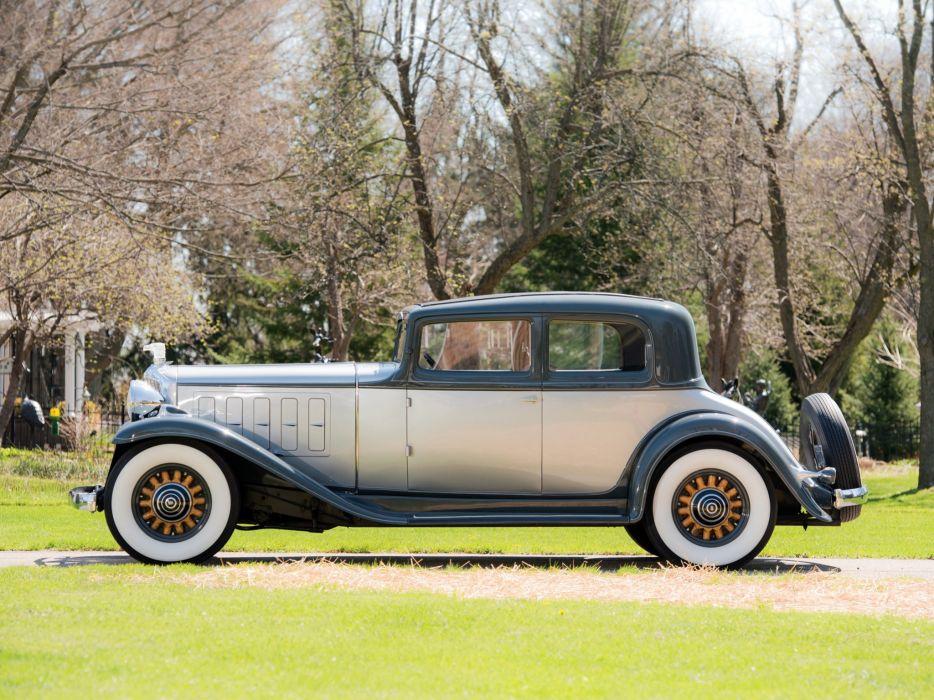 1932 Nash Ambassador Eight Victoria Coupe (10901099) luxury retro  f wallpaper
