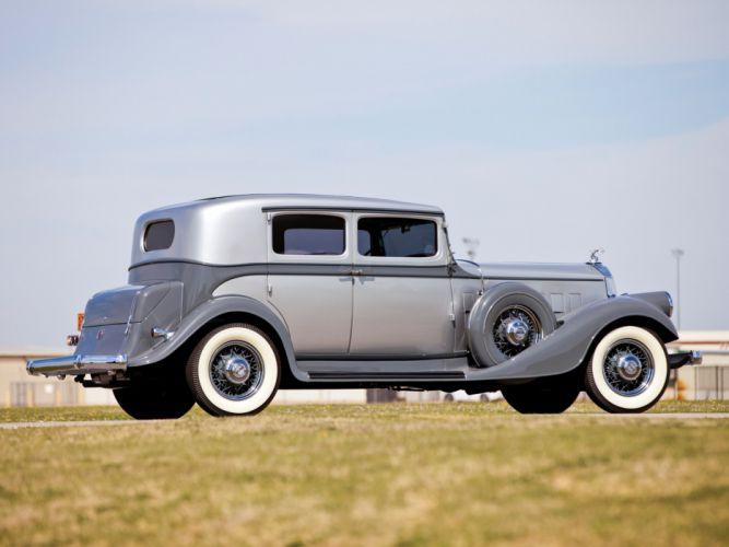 1933 Pierce Arrow Model-836 Club Sedan luxury retro g wallpaper