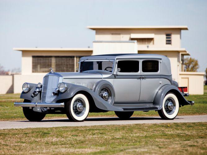 1933 Pierce Arrow Model-836 Club Sedan luxury retro h wallpaper