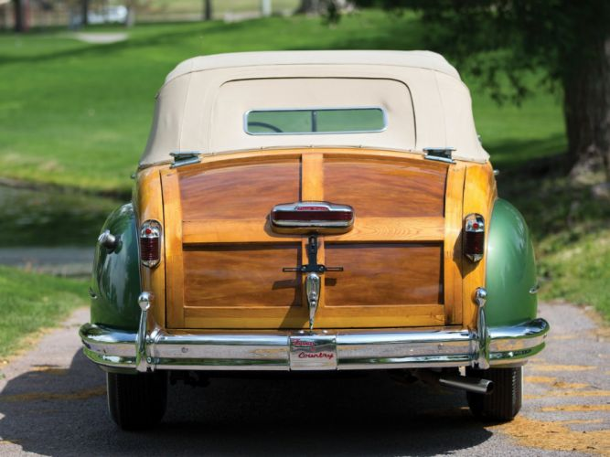 1948 Chrysler Town Country Convertible retro luxury g wallpaper