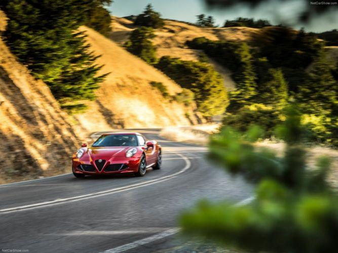 Alfa-Romeo 4C-Coupe US-Version 2015 Car Italy Supercar Sport Sportcar Supersport Italian Wallpaper 4000x3000 (7) wallpaper