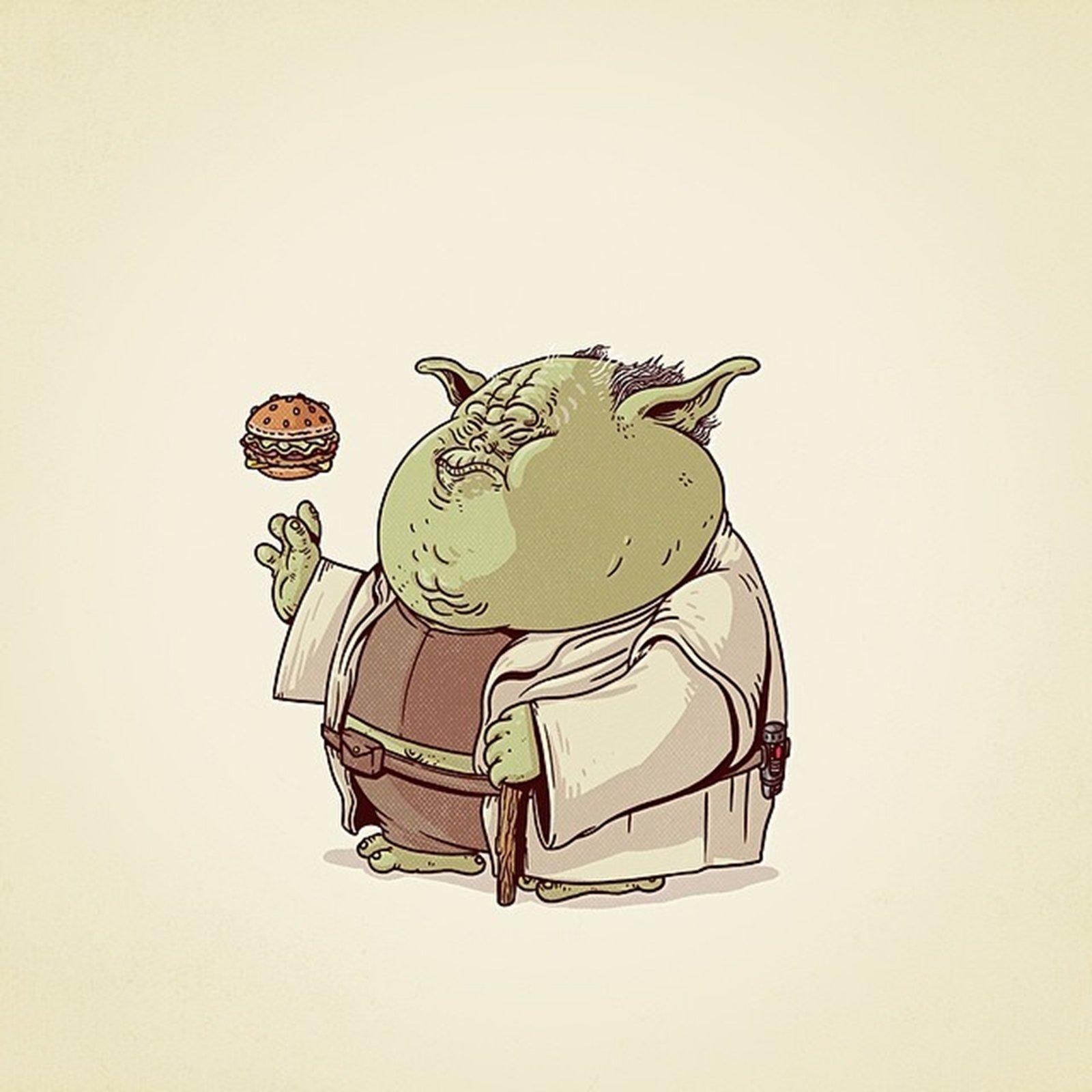 Yoda Character Design : Master yoda fat star wars movie sci fi alien wallpaper