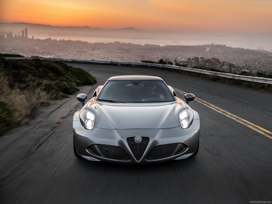Alfa-Romeo 4C-Coupe US-Version 2015 Car Italy Supercar Sport Sportcar Supersport Italian Wallpaper 4000x3000 (31) wallpaper