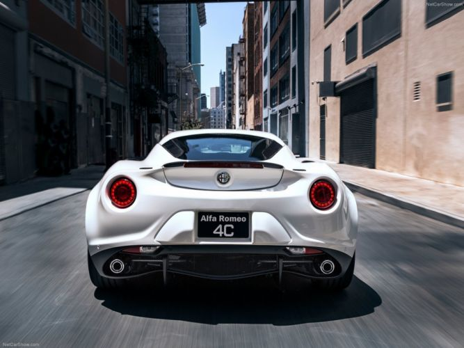 Alfa-Romeo 4C-Coupe US-Version 2015 Car Italy Supercar Sport Sportcar Supersport Italian Wallpaper 4000x3000 (37) wallpaper