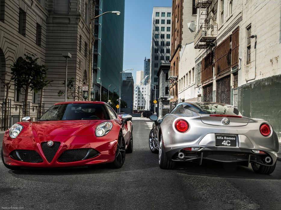 Alfa-Romeo 4C-Coupe US-Version 2015 Car Italy Supercar Sport Sportcar Supersport Italian Wallpaper 4000x3000 (44) wallpaper