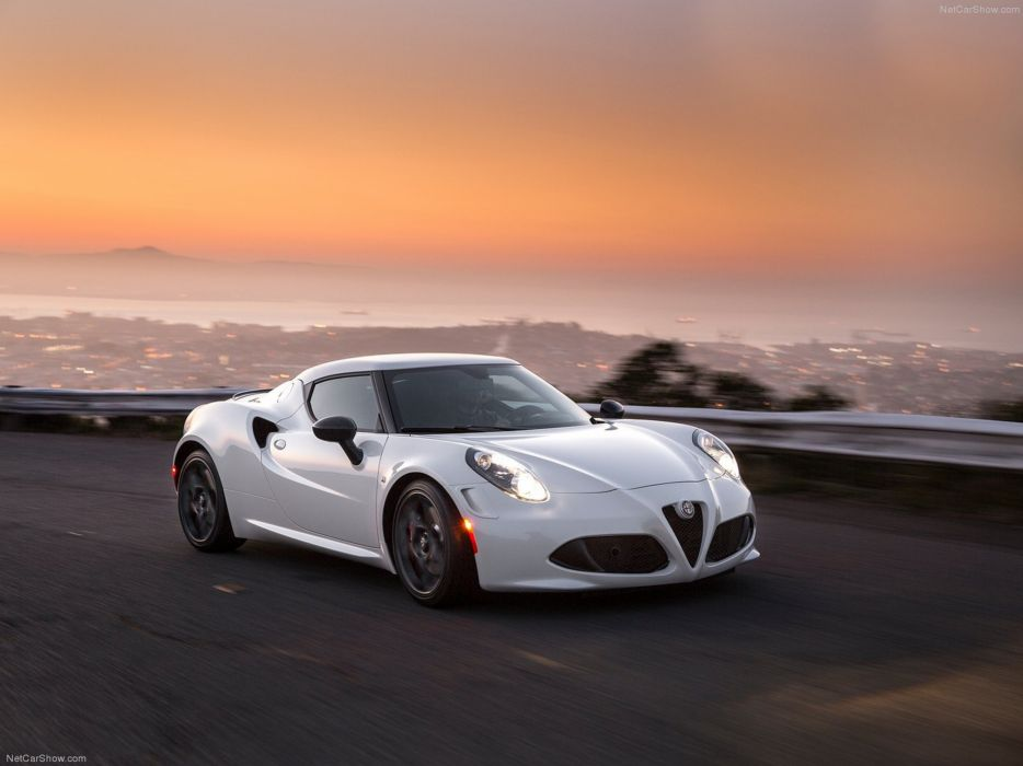 Alfa-Romeo 4C-Coupe US-Version 2015 Car Italy Supercar Sport Sportcar Supersport Italian Wallpaper 4000x3000 (49) wallpaper
