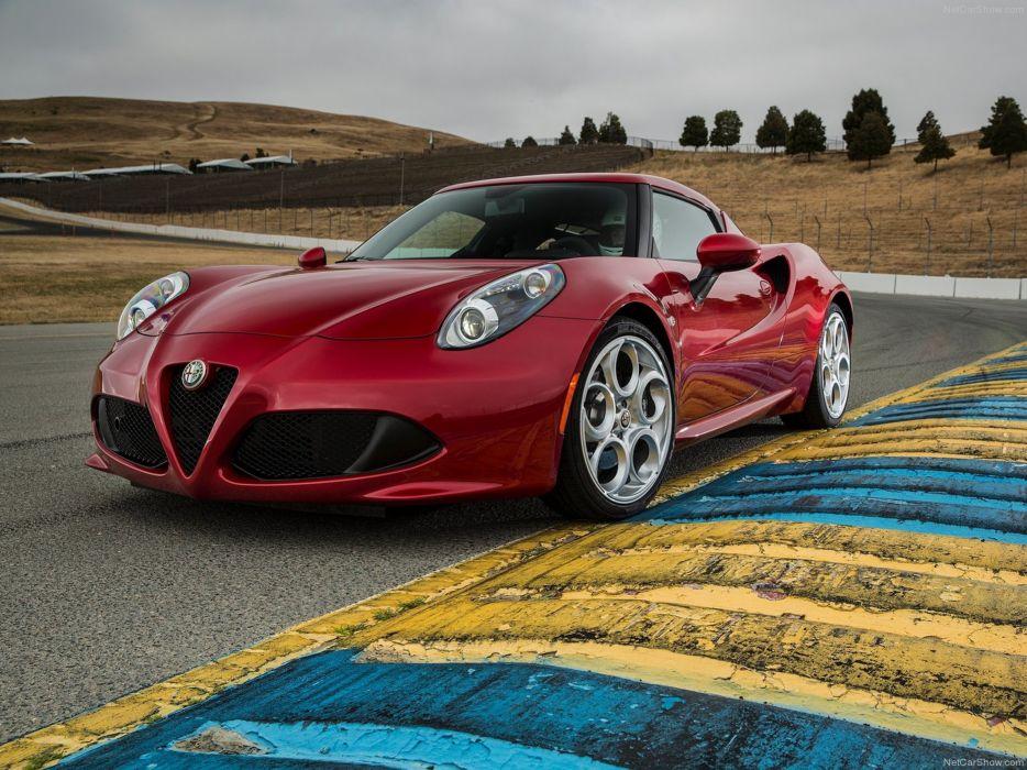 Alfa-Romeo 4C-Coupe US-Version 2015 Car Italy Supercar Sport Sportcar Supersport Italian Wallpaper 4000x3000 (47) wallpaper