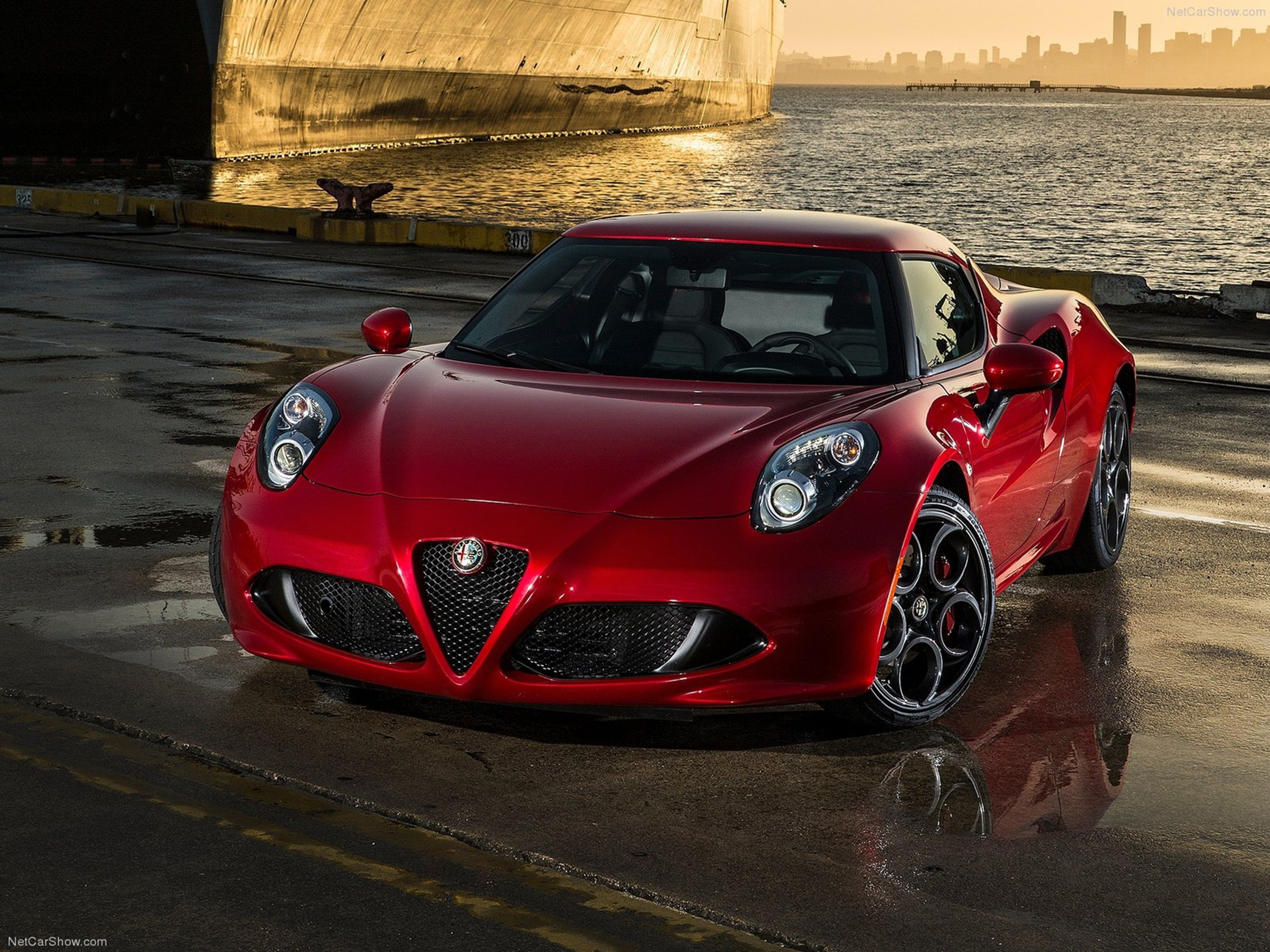 Alfa Romeo 4c Coupe Us Version 2015 Car Italy Supercar Sport Sportcar Supersport Italian Wallpaper 4000x