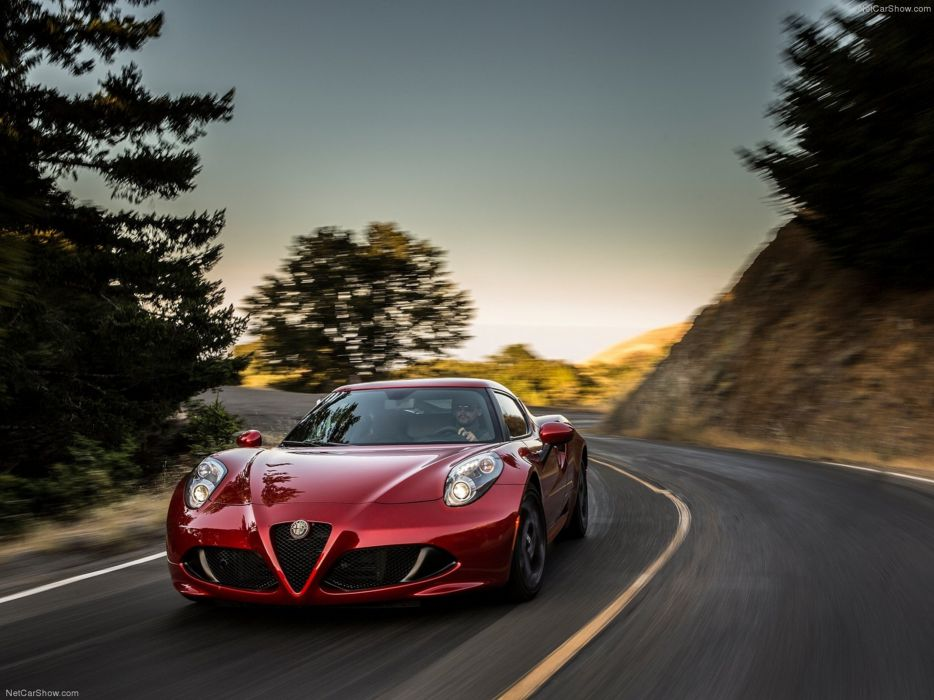 Alfa-Romeo 4C-Coupe US-Version 2015 Car Italy Supercar Sport Sportcar Supersport Italian Wallpaper 4000x3000 (57) wallpaper