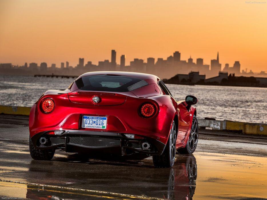 Alfa-Romeo 4C-Coupe US-Version 2015 Car Italy Supercar Sport Sportcar Supersport Italian Wallpaper 4000x3000 (72) wallpaper