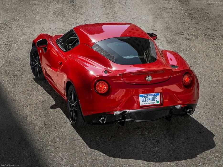 Alfa-Romeo 4C-Coupe US-Version 2015 Car Italy Supercar Sport Sportcar Supersport Italian Wallpaper 4000x3000 (71) wallpaper
