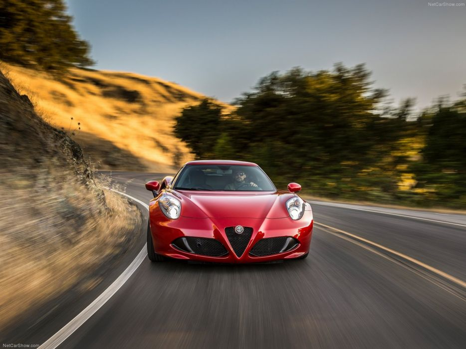 Alfa-Romeo 4C-Coupe US-Version 2015 Car Italy Supercar Sport Sportcar Supersport Italian Wallpaper 4000x3000 (85) wallpaper