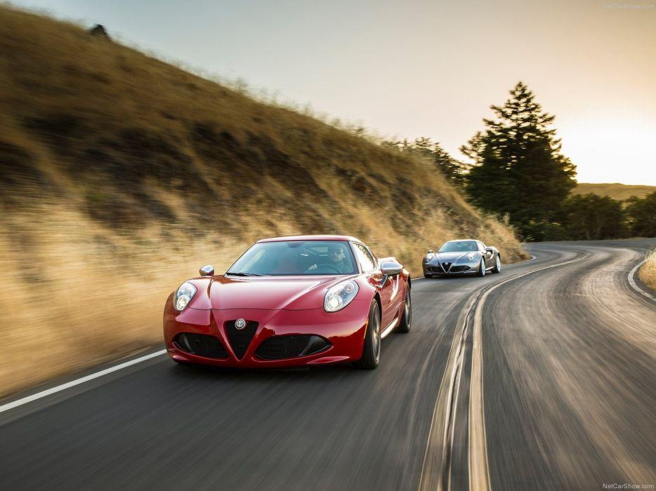 Alfa-Romeo 4C-Coupe US-Version 2015 Car Italy Supercar Sport Sportcar Supersport Italian Wallpaper 4000x3000 (94) wallpaper