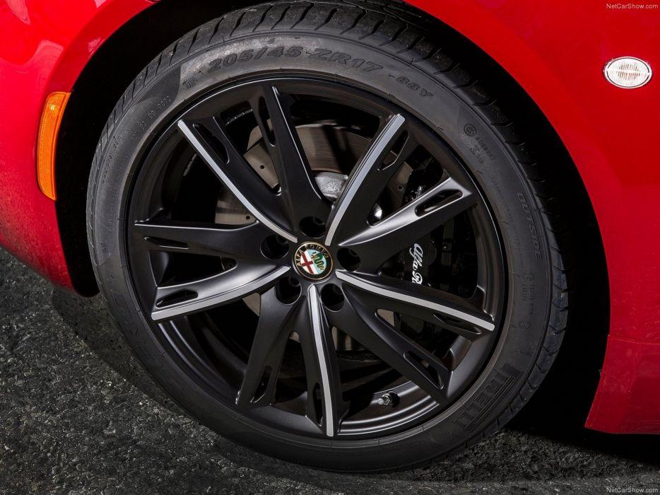Alfa-Romeo 4C-Coupe US-Version 2015 Car Italy Supercar Sport Sportcar Supersport Italian Wheel Tire Wallpaper 4000x3000 (100) wallpaper