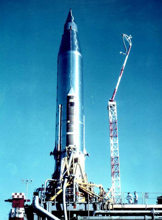 Atlas-B ICBM misile wepons nuclear wallpaper