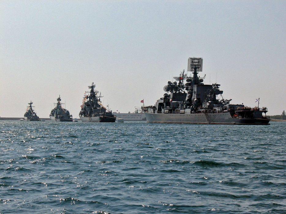 Black-Sea Fleet Russian Red Star Russia Navy Military 4000x3000 wallpaper
