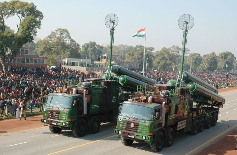 D-598 missile wepons truck vehicle India wallpaper