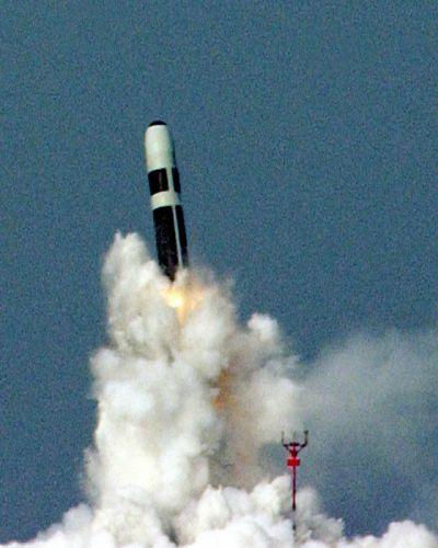 ICBM misile wepons nuclear Trident Breaks Fired HMS Vanguard Navy wallpaper