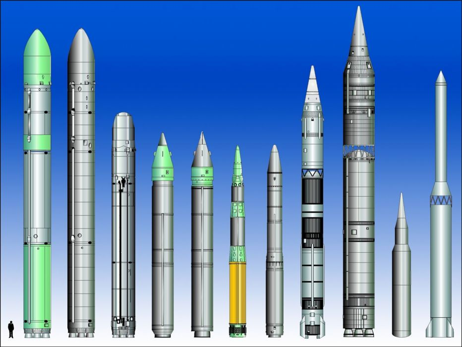 ICBM misile wepons nuclear wallpaper