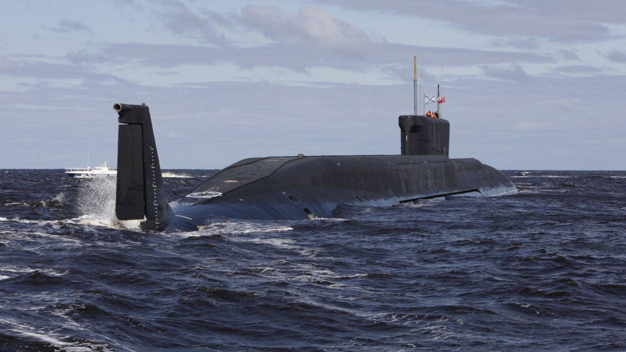 Nuclear Yuri Dolgoruky Russian Red Star Russia Submarine Vehicle Warship Navy 4000x2250 wallpaper