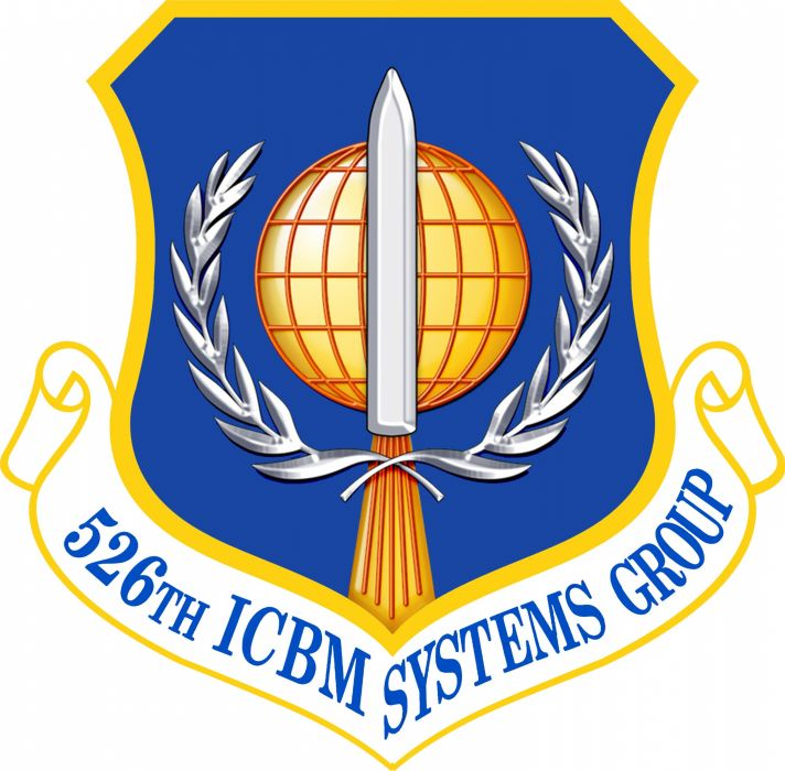 USAF 526th-ICBM-Systems-Group ICBM Missile Logo Nuclear 3052x3000 wallpaper
