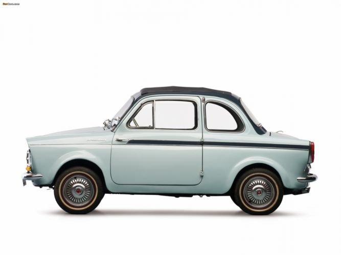 weinsberg fiat 500 limousette 1960 car vehicle retro classic 4000x3000 (2) wallpaper