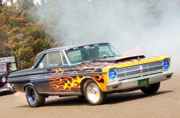 1965 Plymouth Belvedere wallpaper