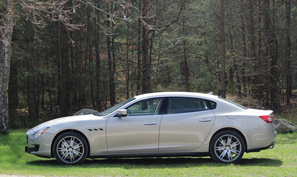 Maserati-Quattroporte-GTS wallpaper