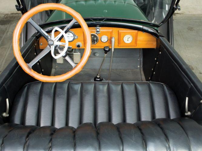 1920 Oldsmobile Model 45-BT 5-passenger Touring retro interior f wallpaper