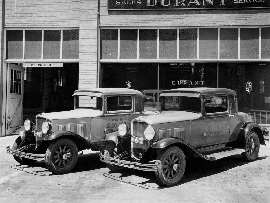 1929 Durant Model 4-40 Coupe retro     g wallpaper