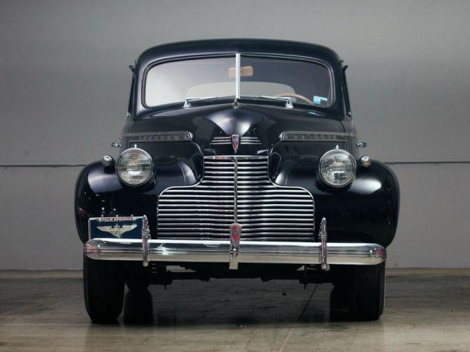 1940 Chevrolet Special DeLuxe 4-door Sport Sedan (KA-2103) retro f wallpaper