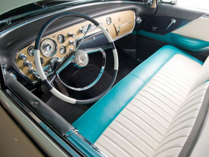 1955 Packard Caribbean Convertible Coupe (5580-5588) retro luxury interior m wallpaper