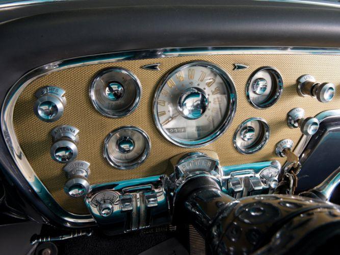 1955 Packard Caribbean Convertible Coupe (5580-5588) retro luxury interior b wallpaper