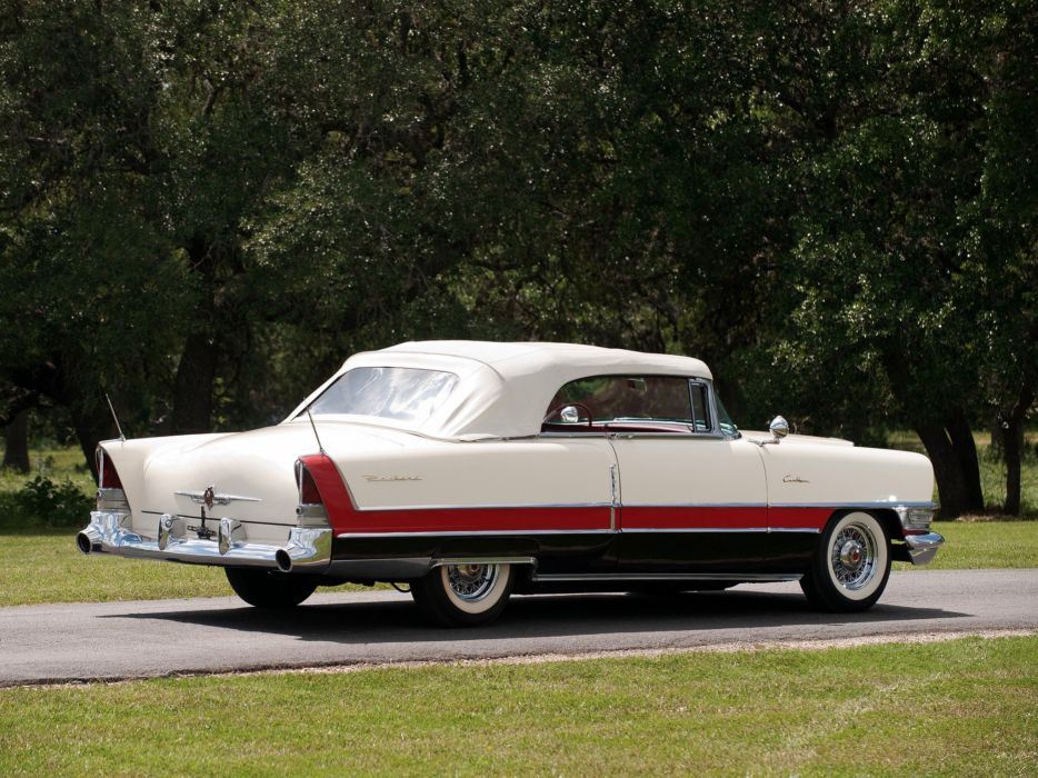 1955 Packard Caribbean Convertible Coupe (5580-5588) retro luxury ee wallpaper