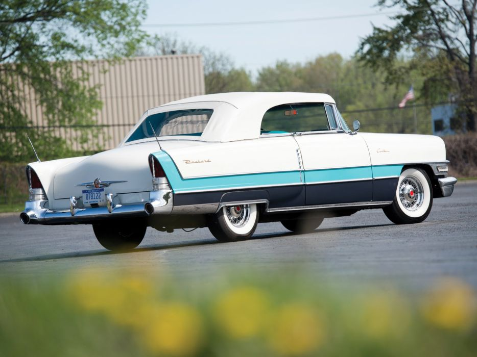 1955 Packard Caribbean Convertible Coupe (5580-5588) retro luxury    g wallpaper
