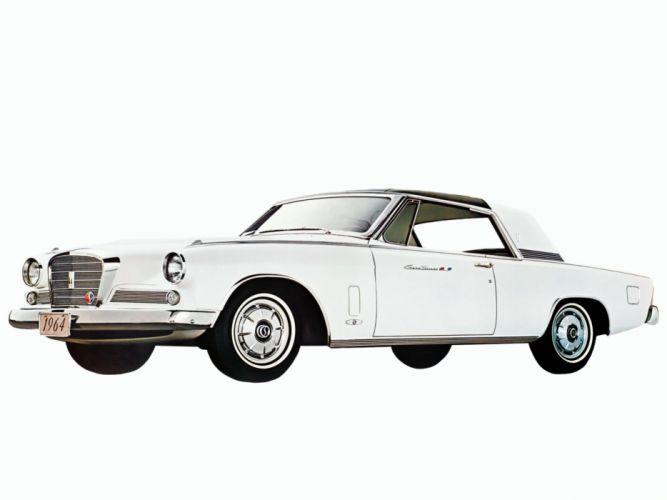 1964 Studebaker Gran Turismo Hawk R-2 Supercharged (64V-K6) classic luxury gs wallpaper