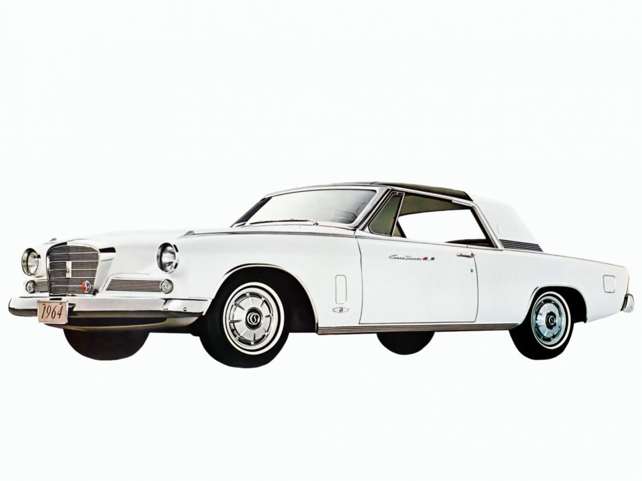 1964 Studebaker Gran Turismo Hawk R-2 Supercharged (64V-K6) classic luxury  gs wallpaper