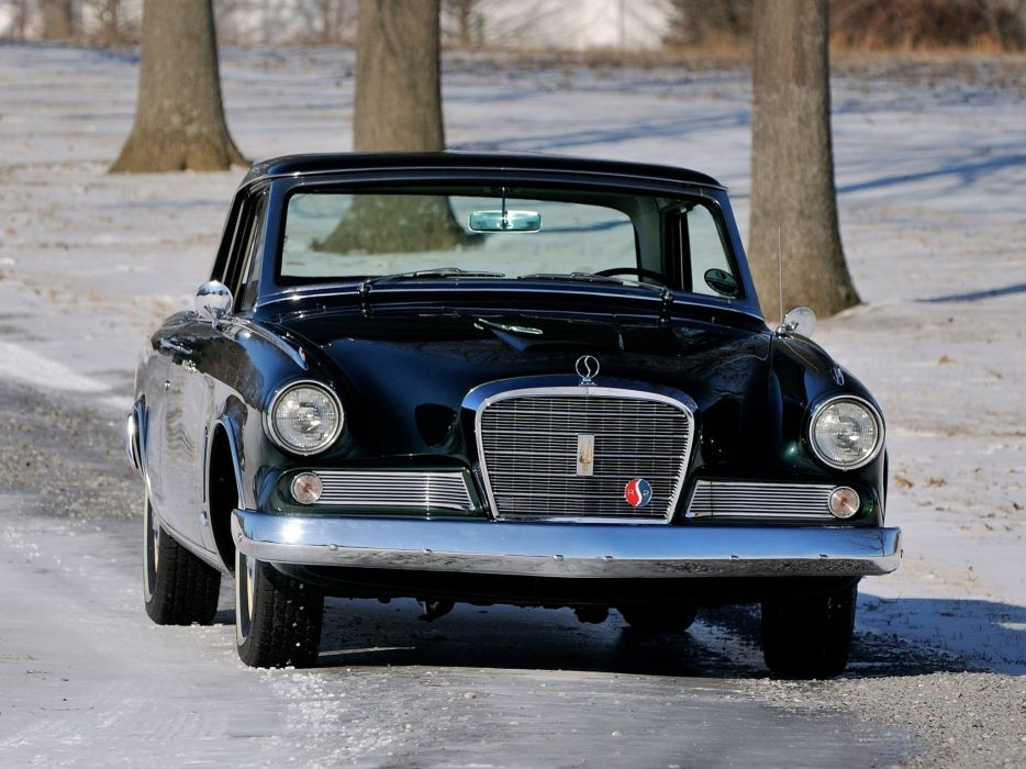 1964 Studebaker Gran Turismo Hawk R-2 Supercharged (64V-K6) classic luxury  f wallpaper