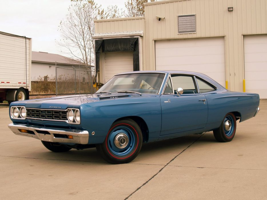 1968 Plymouth Road Runner 426 Hemi Coupe (RM21) muscle classic   j wallpaper