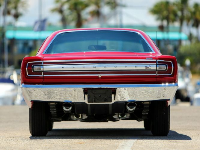 1968 Plymouth Road Runner 426 Hemi Coupe (RM21) muscle classic g wallpaper
