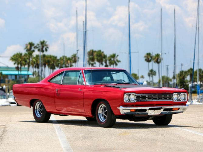 1968 Plymouth Road Runner 426 Hemi Coupe (RM21) muscle classic jf wallpaper