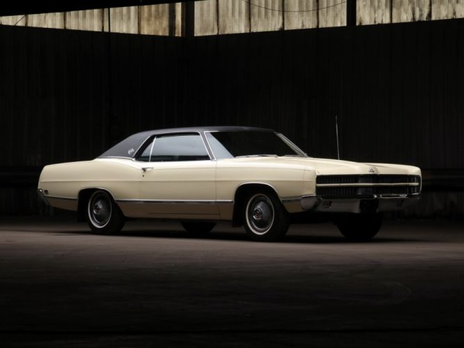 1969 Ford LTD Formal Hardtop Coupe (65A) classic luxury d wallpaper