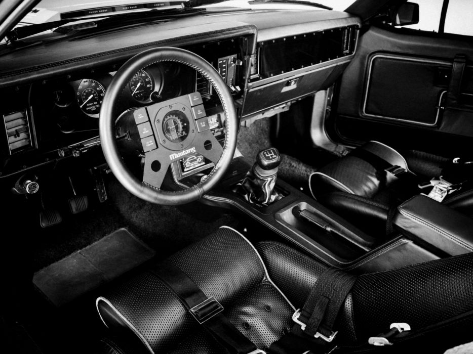 1979 Ford Mustang IMSA GTP race racing muscle hot rod rods interior    d wallpaper