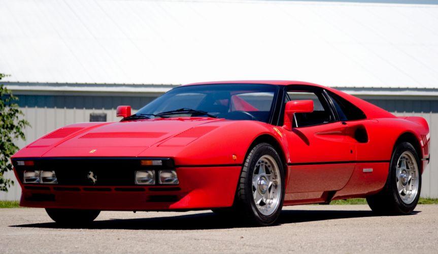 1985 Ferrari 288 GTO Evoluzione supercar f wallpaper