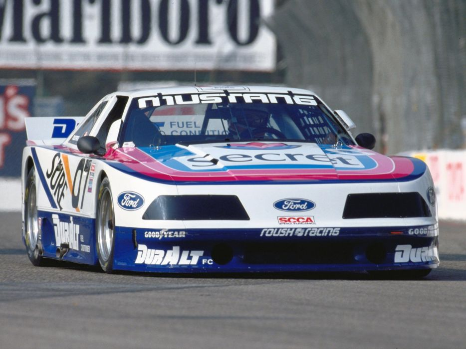1985 Ford Mustang racing race    g wallpaper