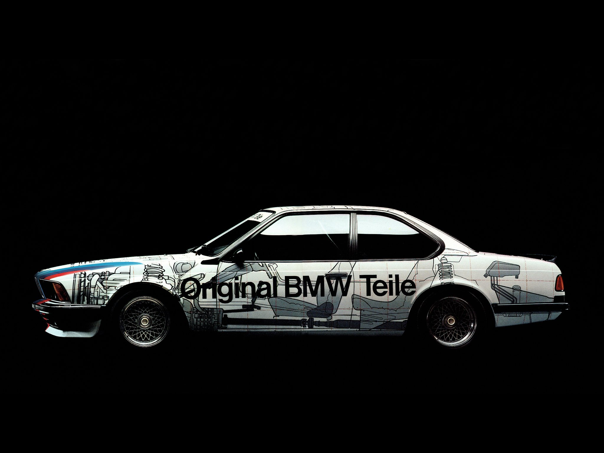 1986 BMW 635 CSi ETCC (E24) race racing tuning v wallpaper ...